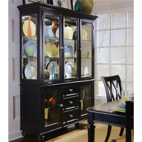 American Drew Camden - Dark Complete China Hutch