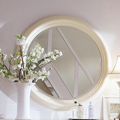 American Drew Camden - Light Round Beveled Mirror