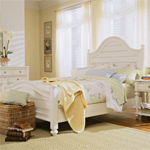 American Drew Camden - Light California King Panel Bed