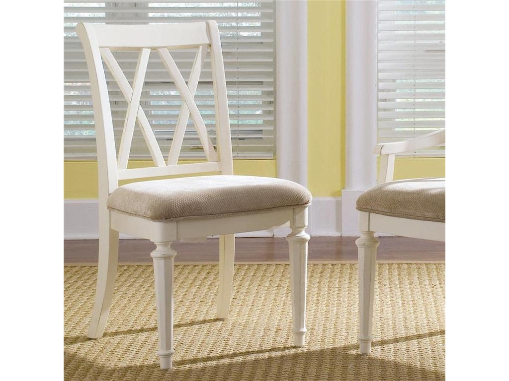 American Drew Camden - LightSplat Back Side Chair
