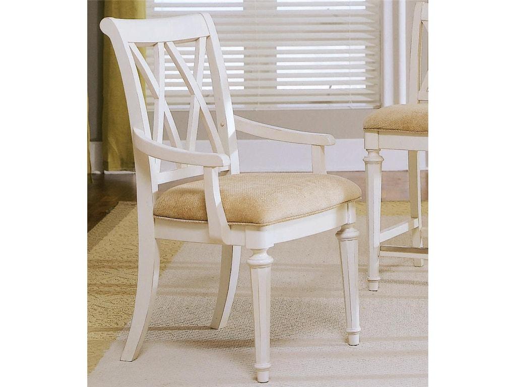 American Drew Camden - LightSplat Back Arm Chair