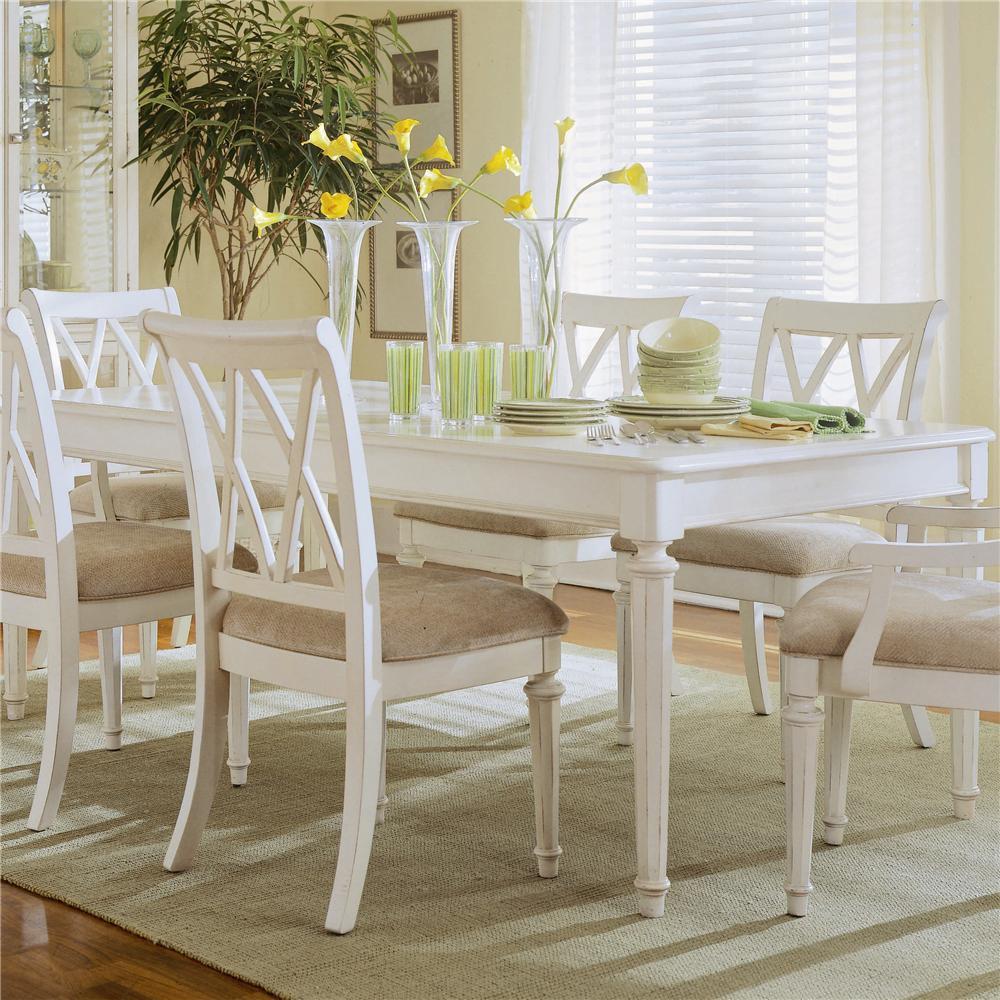 American Drew Camden   LightLeg Table ...