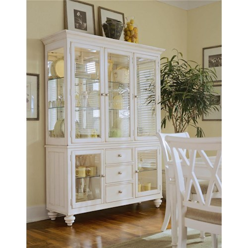 American Drew Camden - Light Complete China Hutch