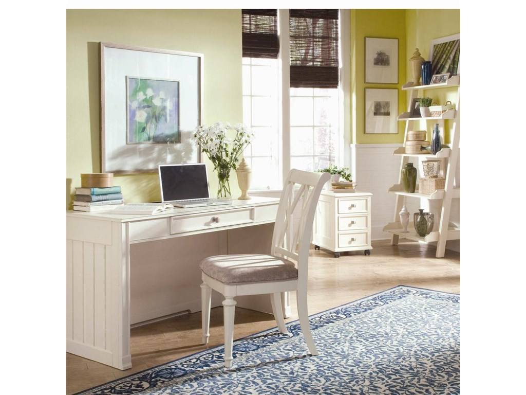 File Cabinet Shown with Desk and Chair