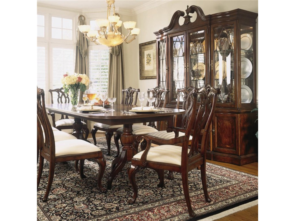 Shown with Breakfront China Cabinet