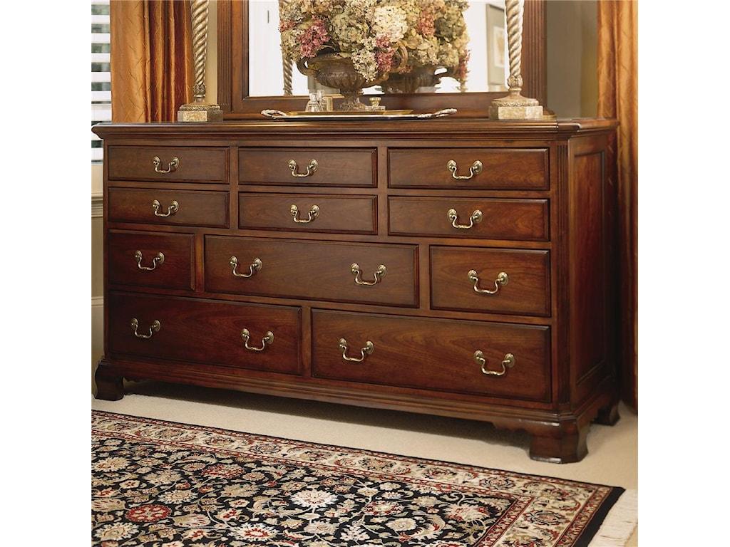 American Drew Cherry Grove 45thTriple Dresser