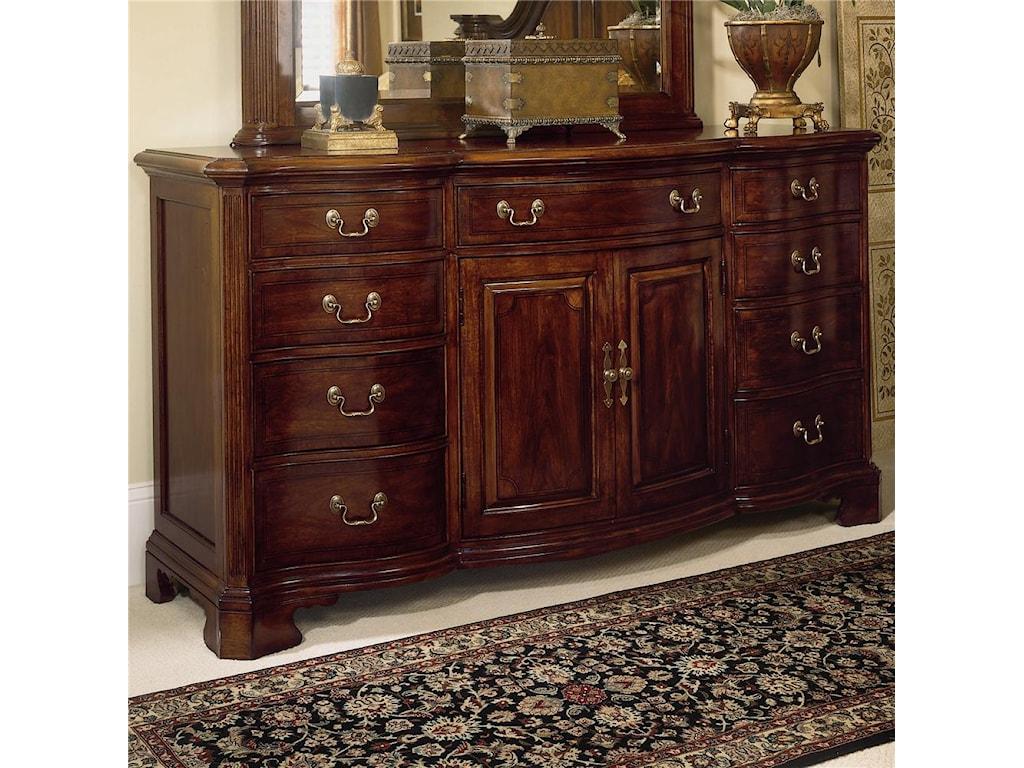 American Drew Cherry Grove 45thDoor Triple Dresser