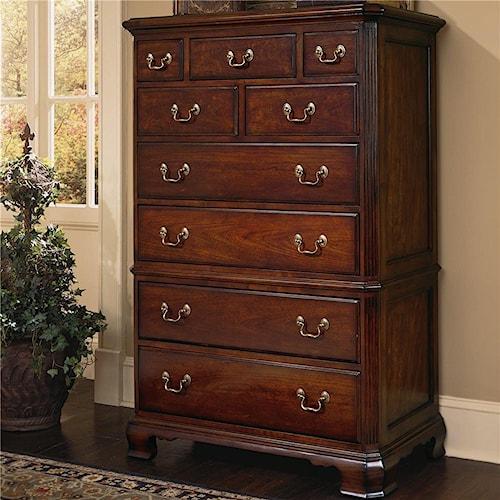 American Drew Cherry Grove 45th 9 Drawer Dresser Chest