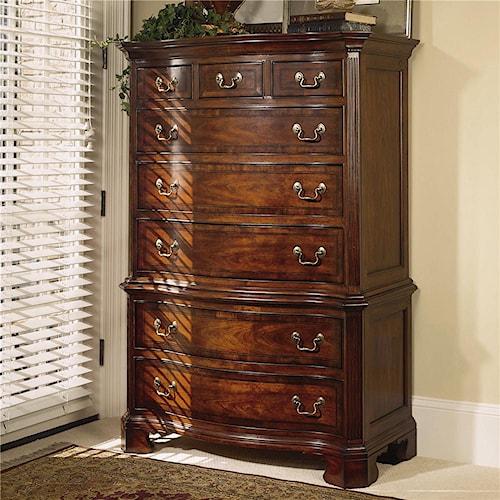 American Drew Cherry Grove 45th 8 Drawer Dresser Chest