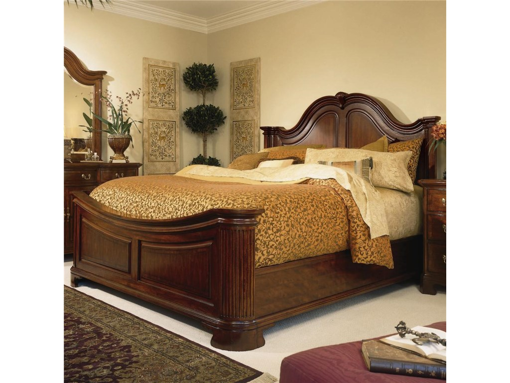 American Drew Cherry Grove 45thKing Mansion Bed