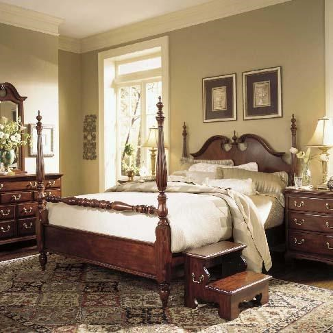 Picture of: American Drew Cherry Grove 45th Queen Low Poster Bed Wayside Furniture Poster Beds