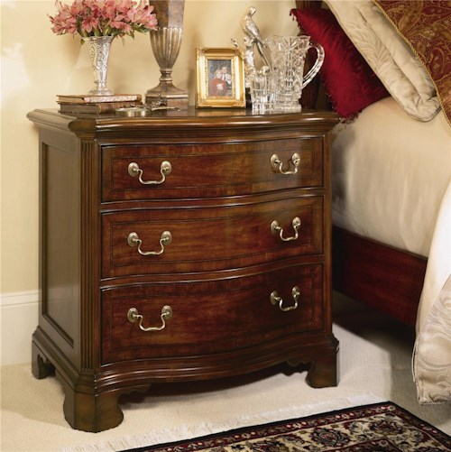 American Drew Cherry Grove 45th Traditional 3 Drawer Night Stand