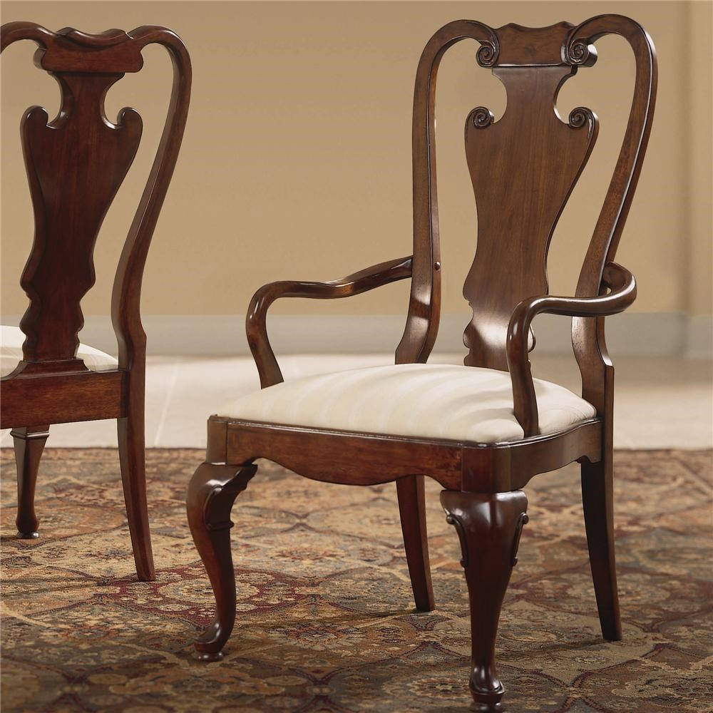 American Drew Cherry Grove 45th Traditional Splat Back Arm Chair