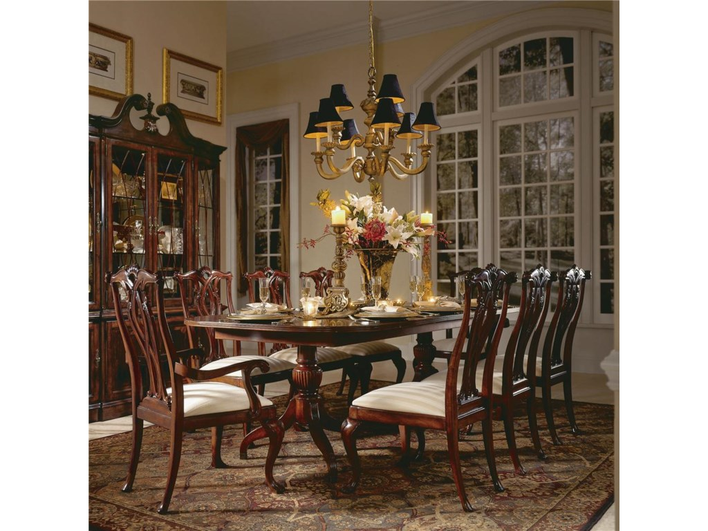 Shown with Pedestal Table