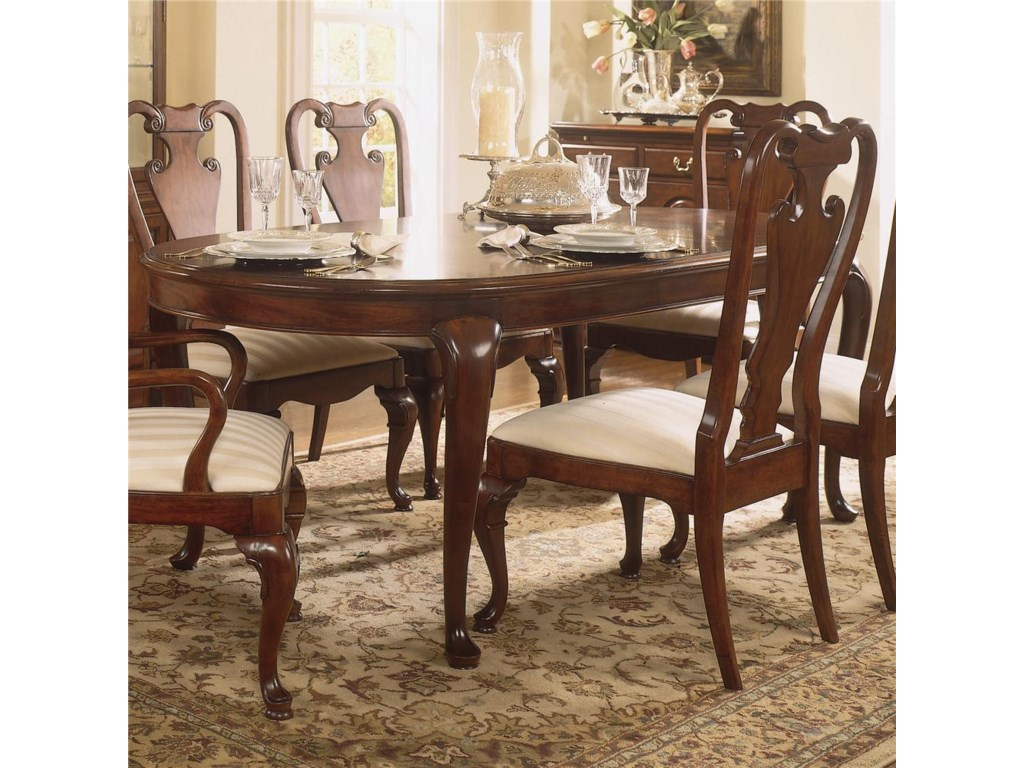 American Drew Cherry Grove 45thOval Leg Table