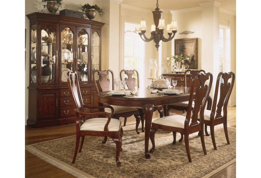 Cherry Grove 45th Canted Gl Door China Cabinet By American Drew At Stoney Creek Furniture