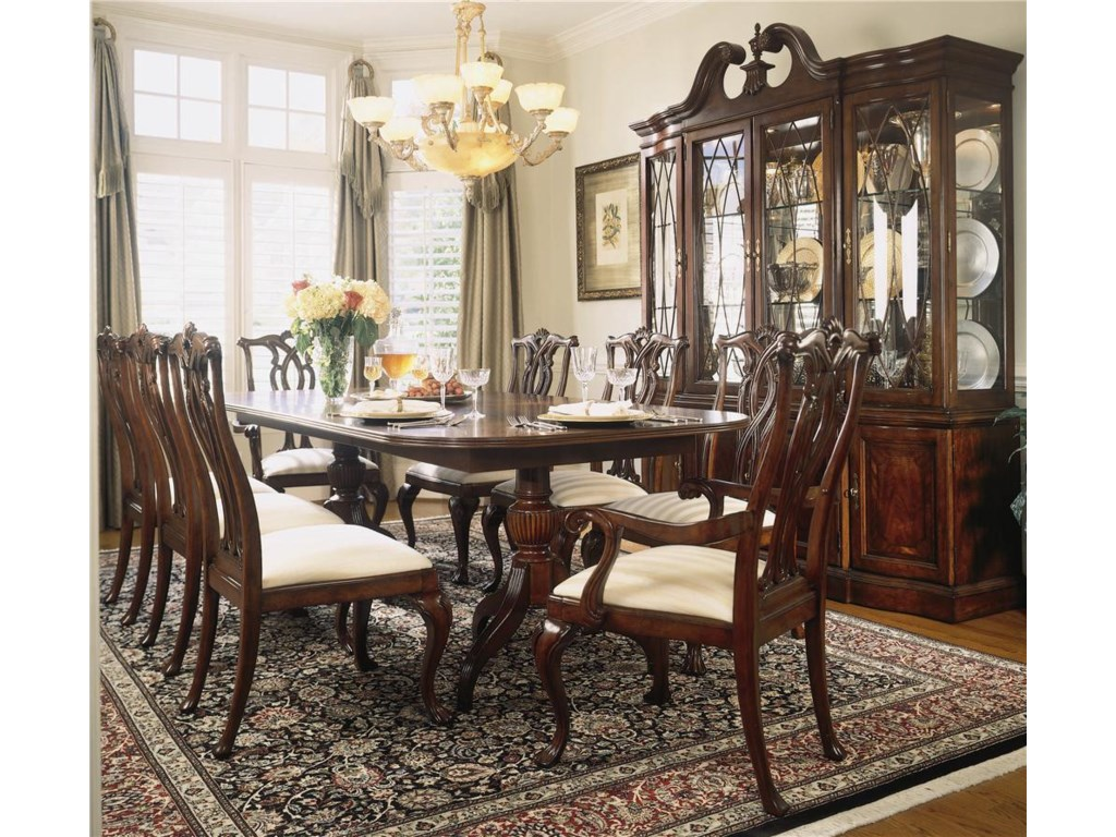 Shown with 9 Piece Traditional Dining Set