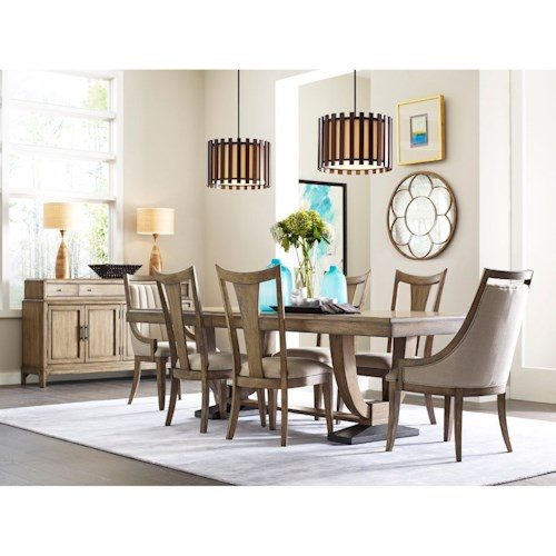 American Drew EVOKE  Formal Dining Room Group