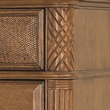 Carving & Fluting Details on Dresser Pilasters