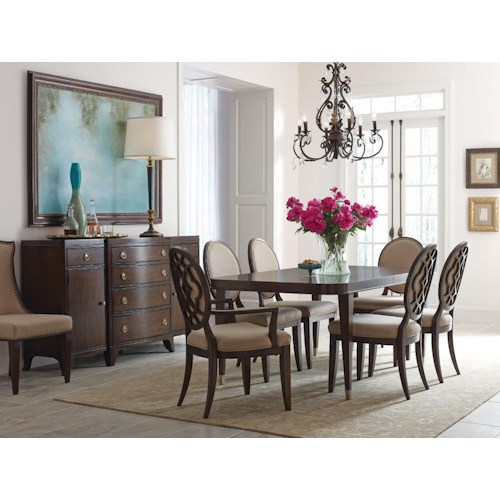 American Drew Grantham Hall Formal Dining Room Group 2