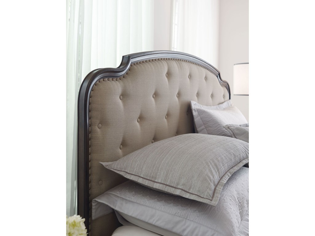 American Drew Grantham HallKing Upholstered Panel Bed