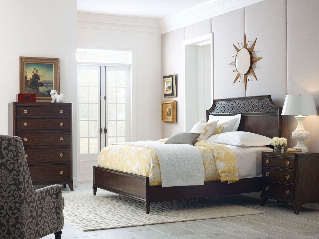 American Drew Grantham HallKing Panel Bed