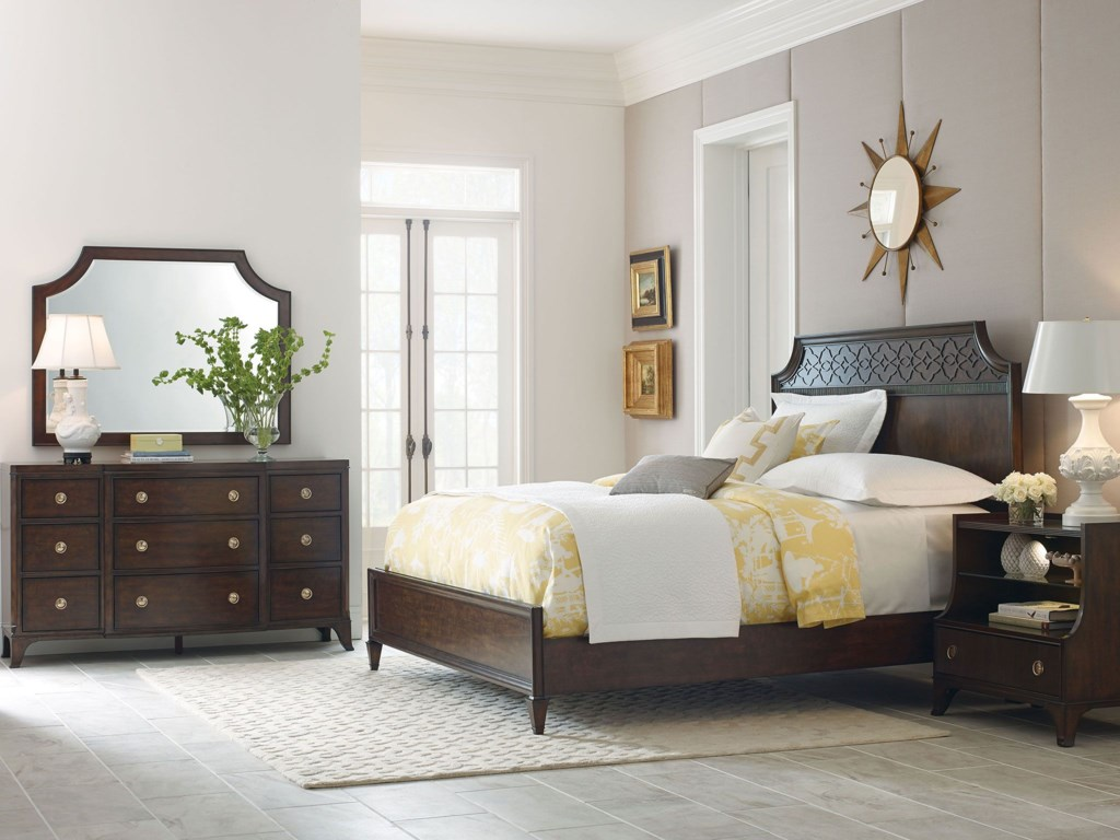 American Drew Grantham HallCalifornia King Panel Bed
