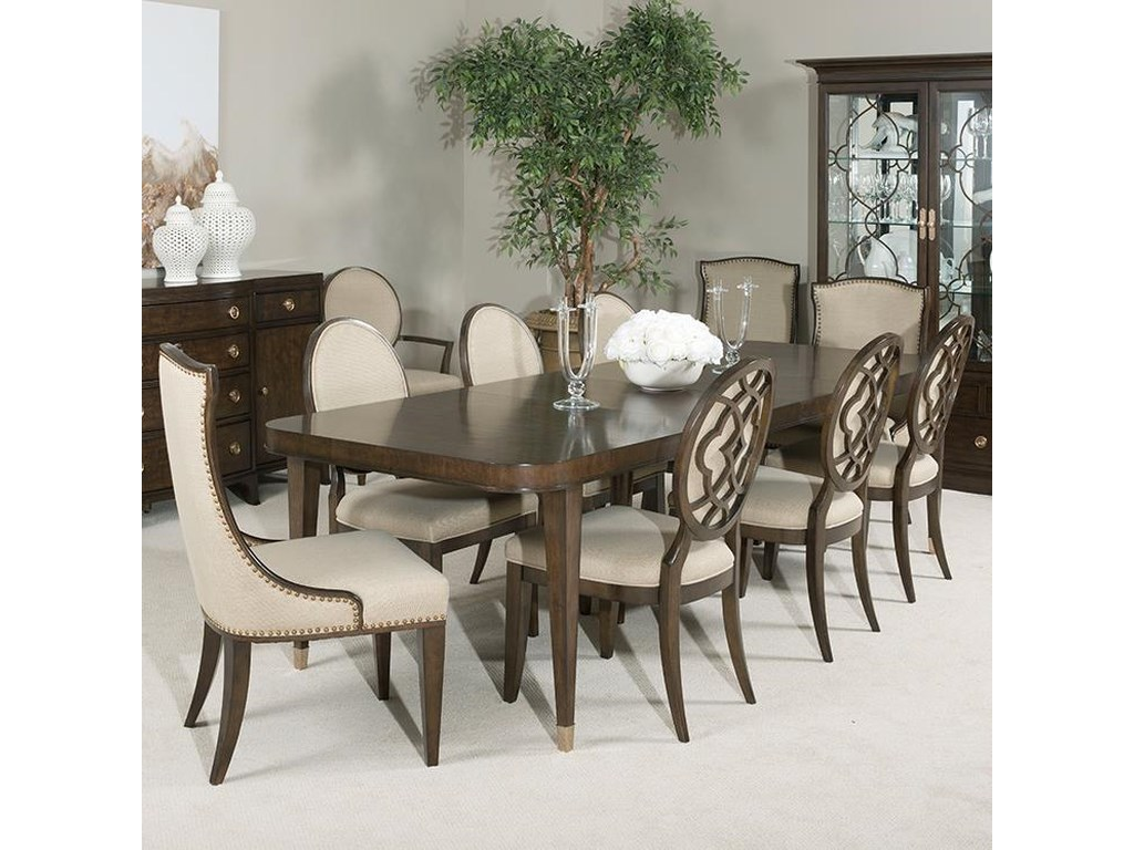 Grantham Hall 9 Piece Table and Chair Set