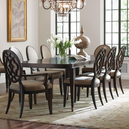 9 Piece Table and Chair Set