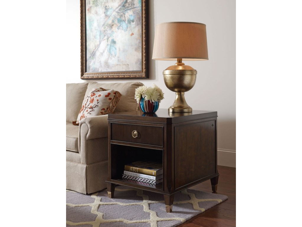 American Drew Grantham HallDrawer End Table