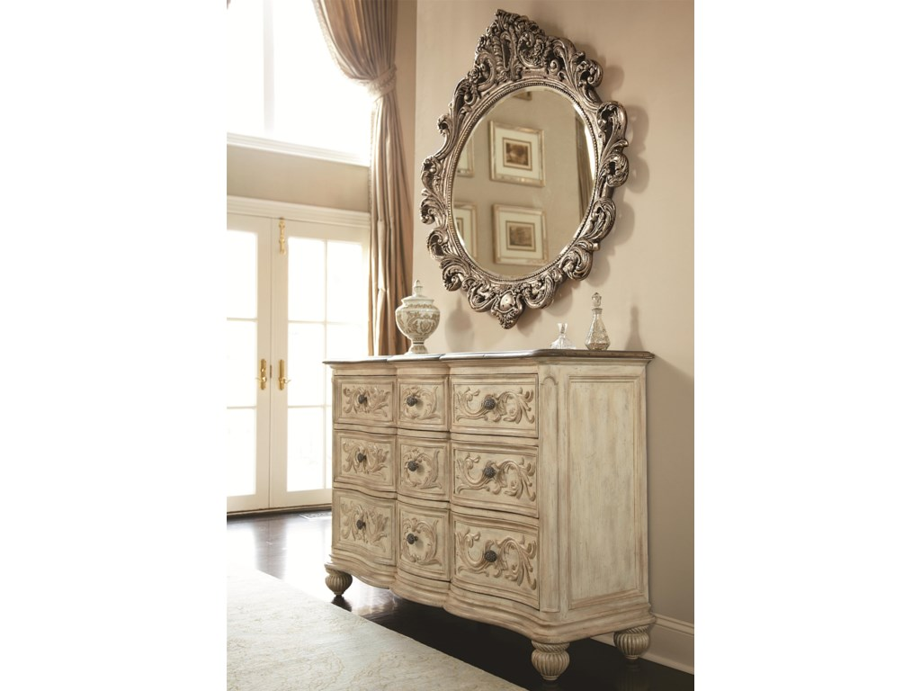 Shown with 9 Drawer Dresser