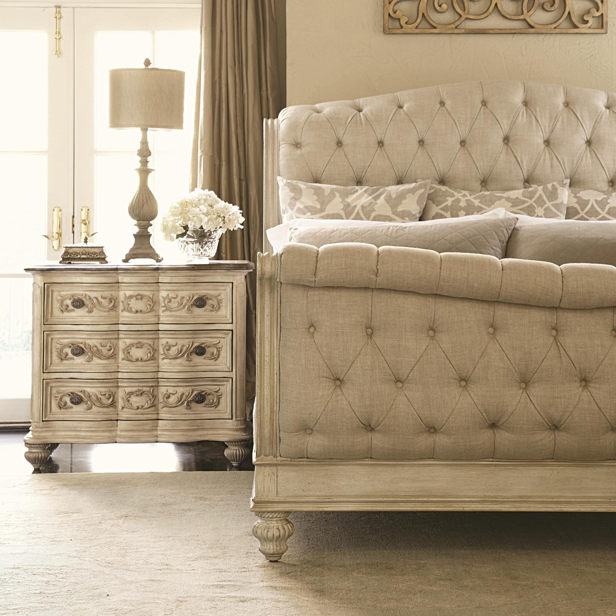 Great ... American Drew Jessica McClintock Home   The Boutique CollectionQueen  Sleigh Bed