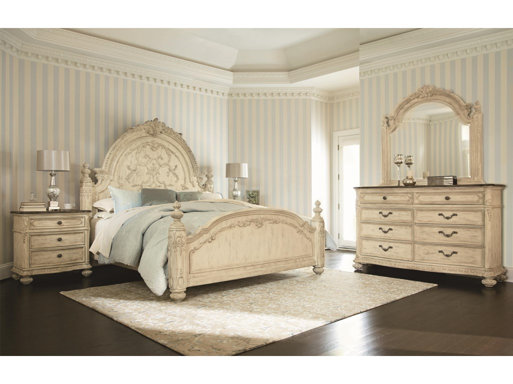Shown with 8 Drawer Dresser, Landscape Mirror and Mansion Bed
