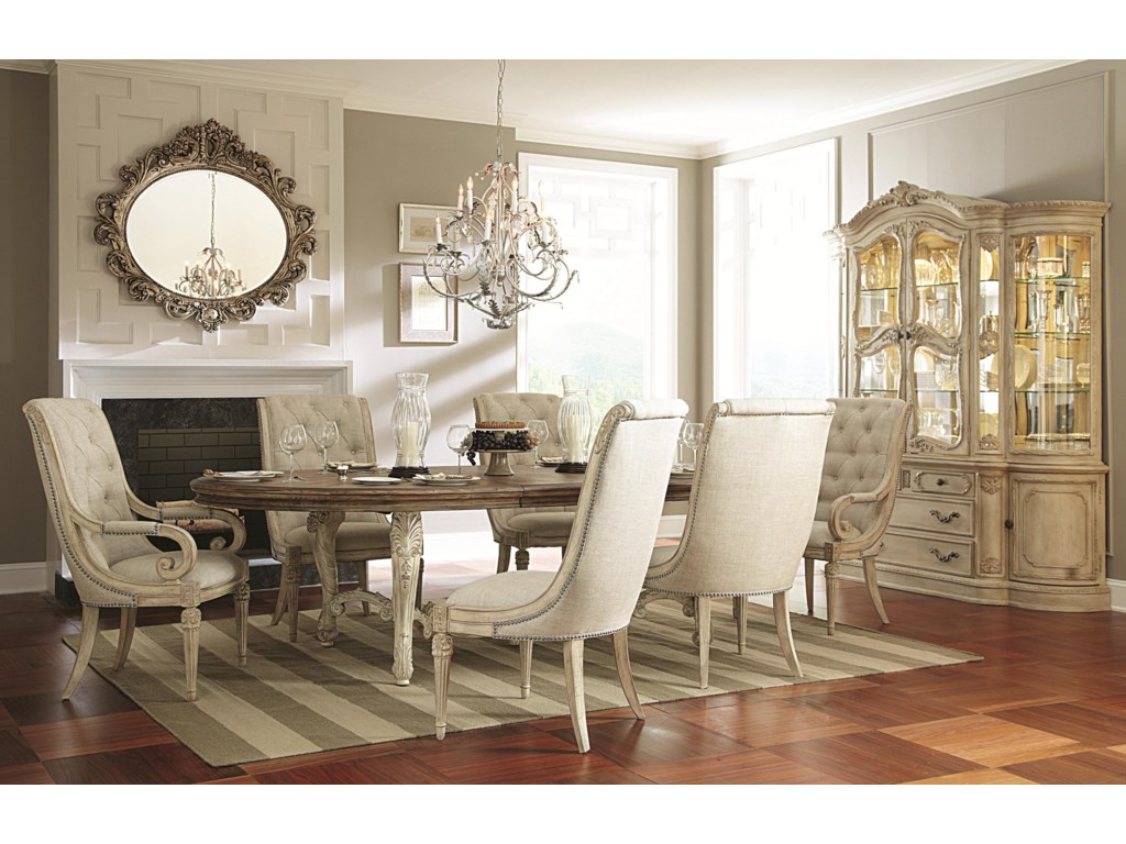 American Drew Jessica McClintock Home - The Boutique CollectionOval Dining Table