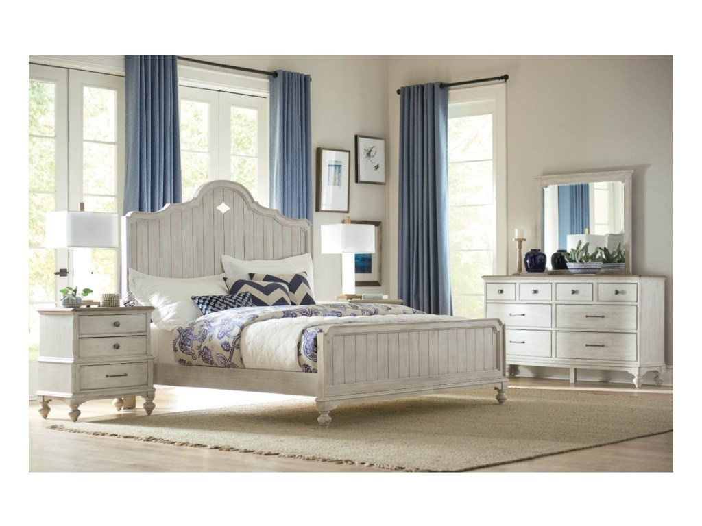 American Drew LitchfieldQueen Bedroom Group