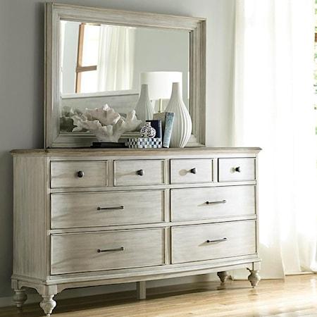 Weymouth Dresser Mirror Set