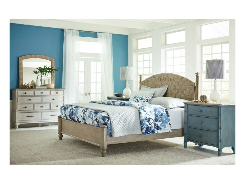 American Drew LitchfieldCurrituck Queen Bed