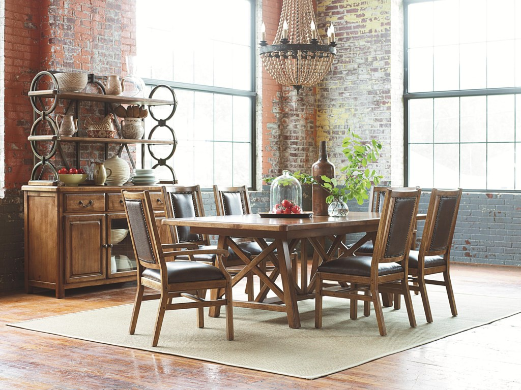 American Drew New RiverNew River Dining Set