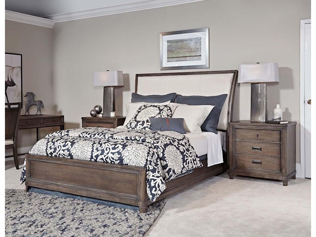 American Drew Park StudioQueen Sleigh Bed