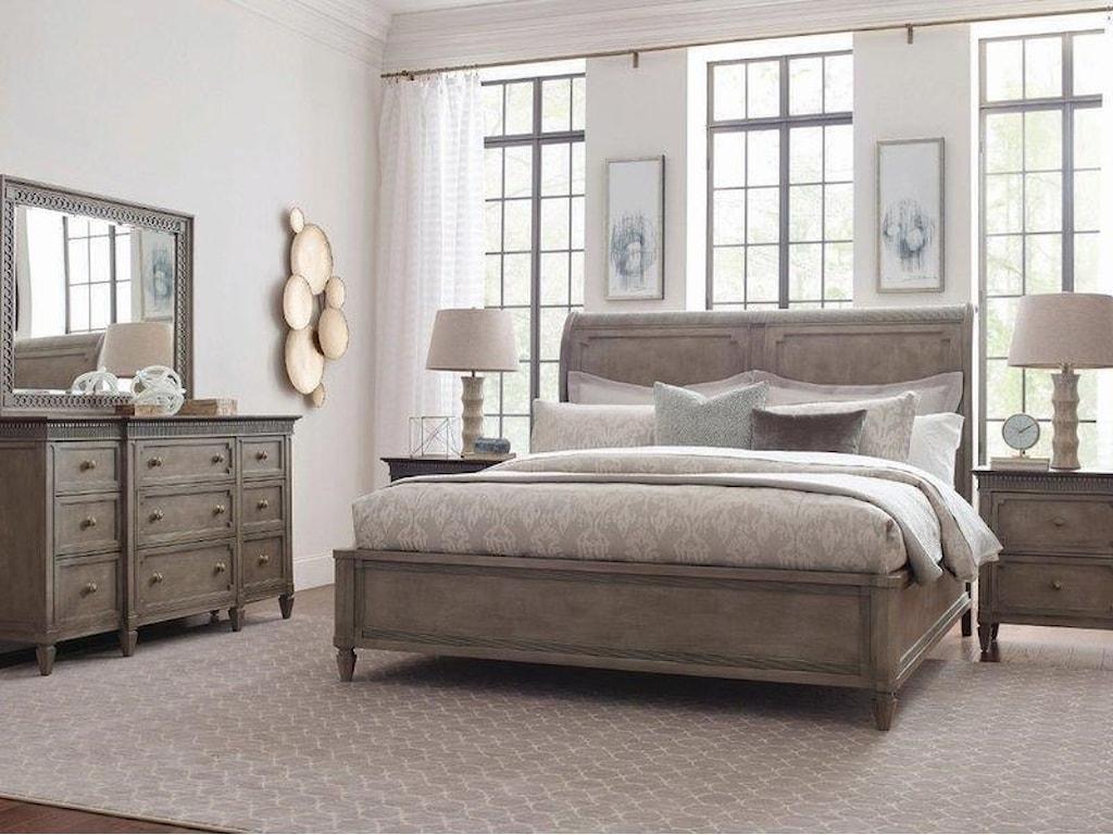 American Drew SalinaSalina King Sleigh Bed