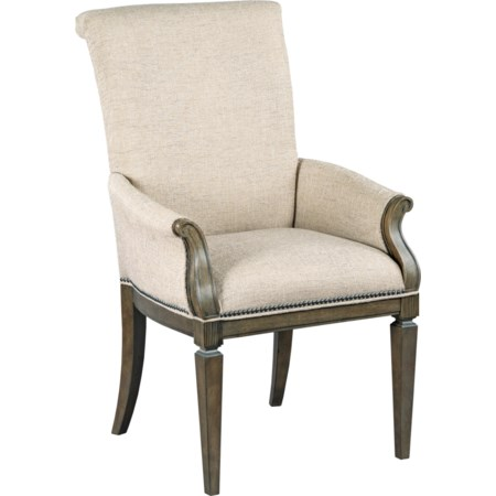 Camille Upholstered Arm Chair