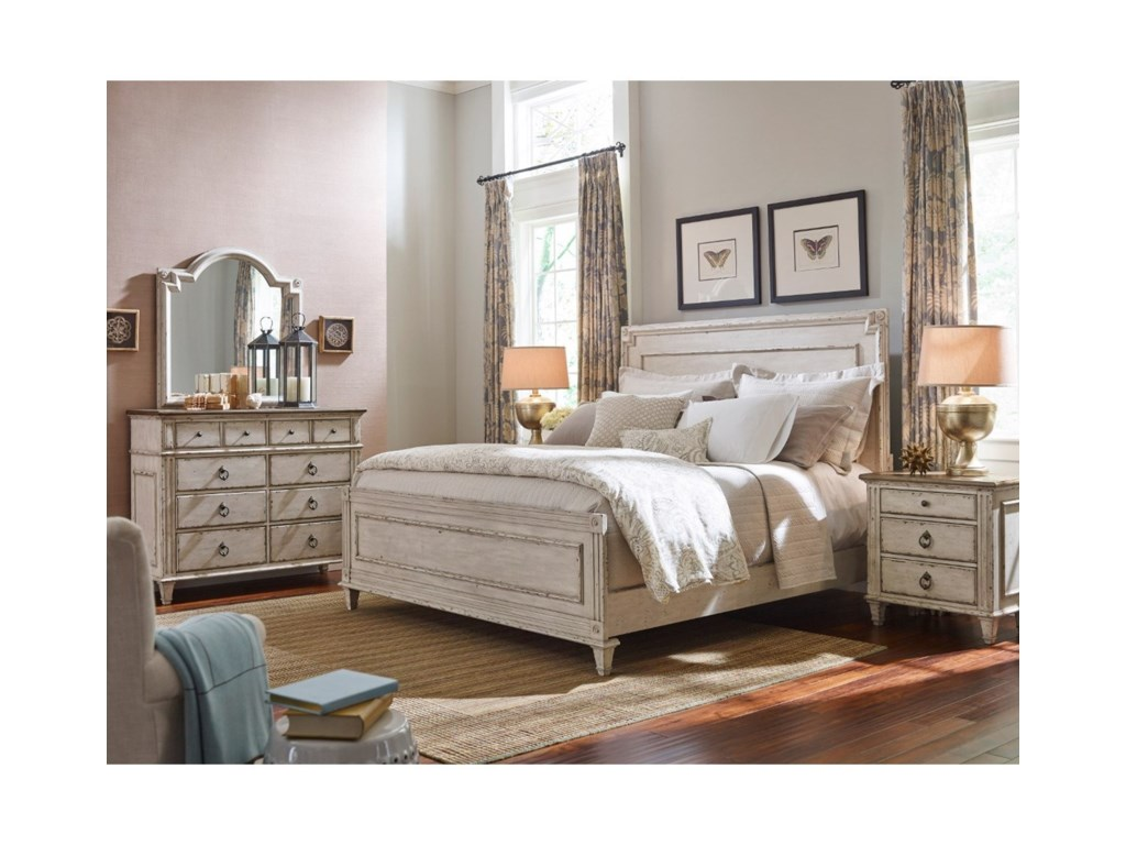 Morris Home South GateSouth Gate Queen Panel Bed