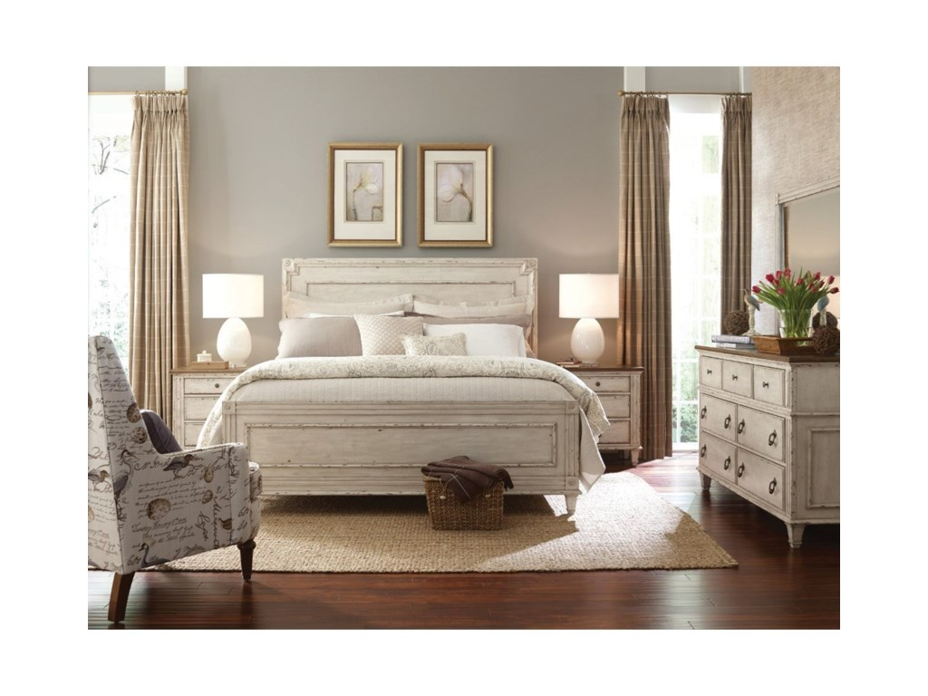 American Drew SOUTHBURY King Panel Bed