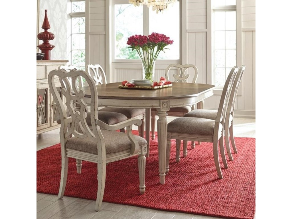 American Drew SOUTHBURY 7 Piece Table & Chair Set