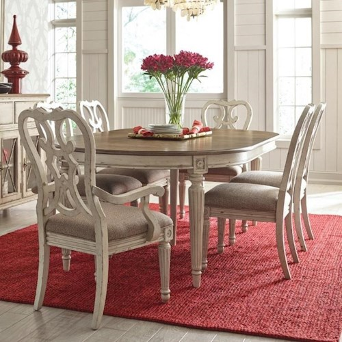 American Drew Southbury 7 Piece Table Amp Chair Set