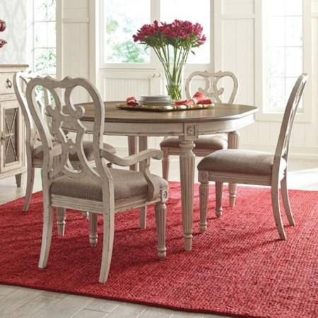 5 Piece Table & Chair Set