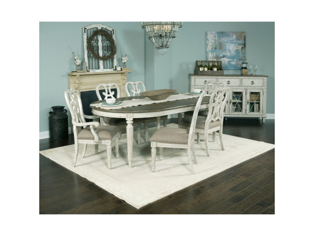 American Drew SOUTHBURY Round Dining Table