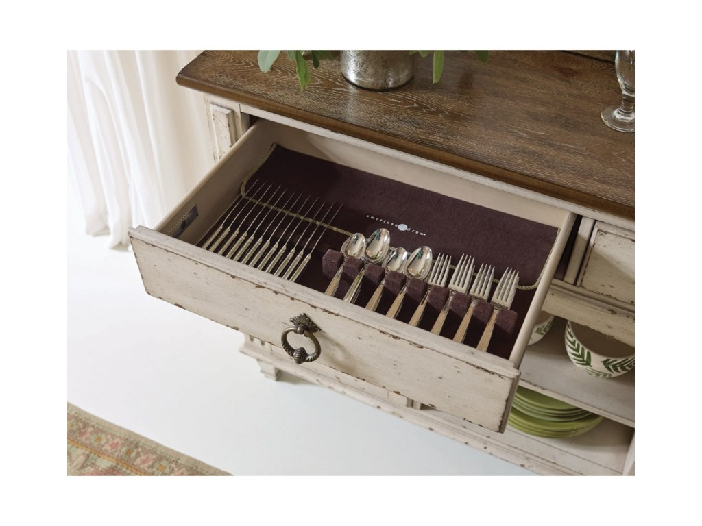 American Drew SOUTHBURY Server with Two Doors