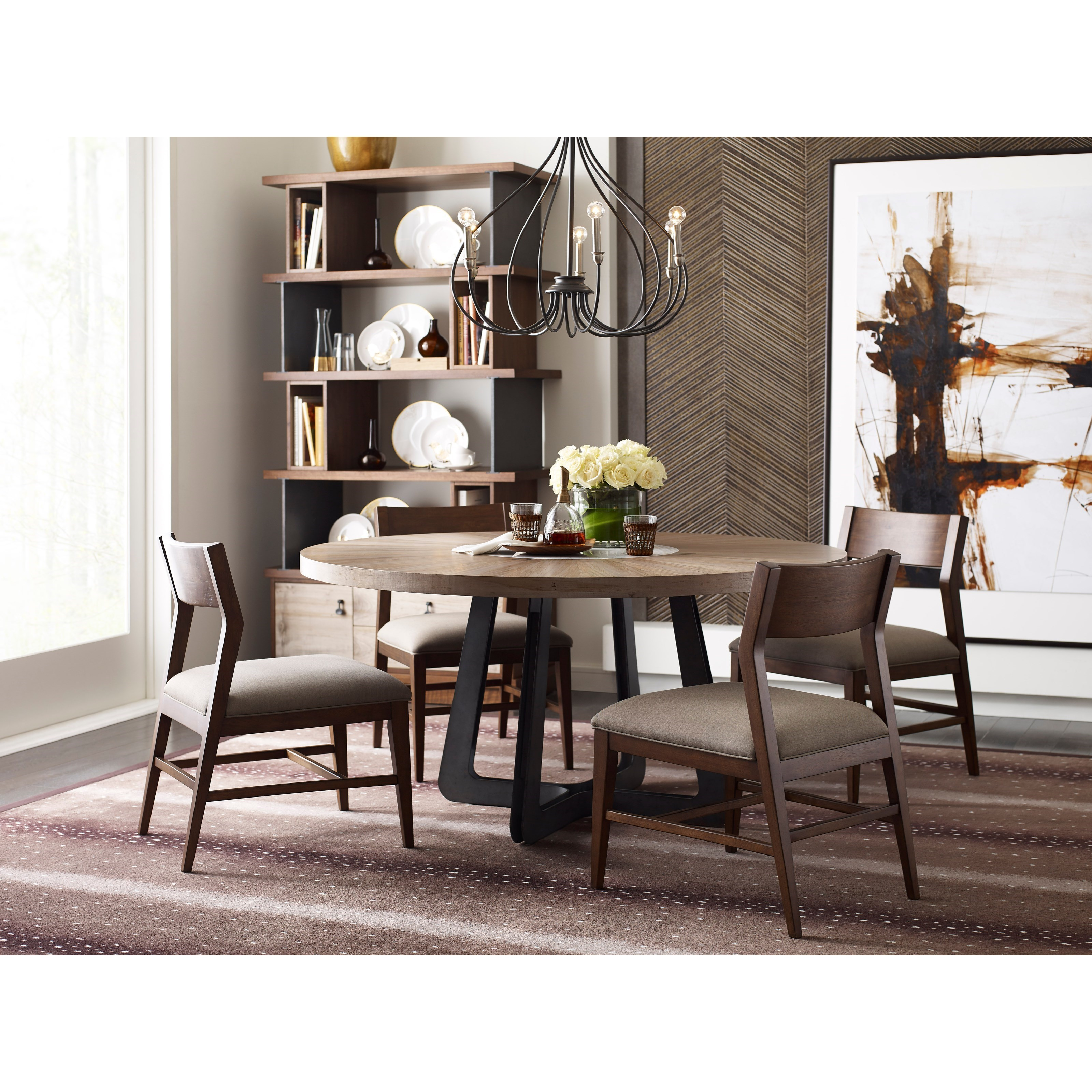 Living Trends Modern Synergy Casual Dining Room Group