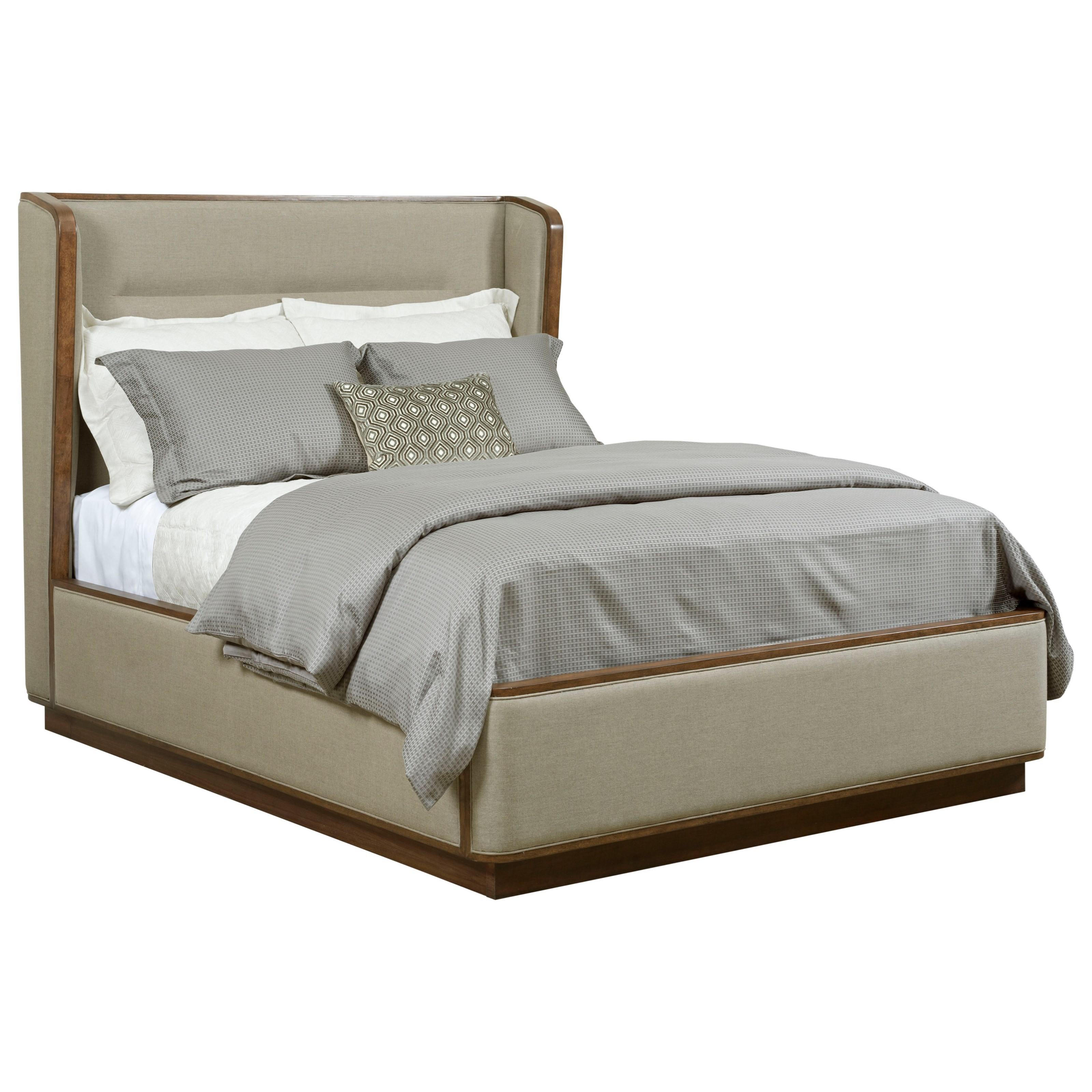 American Drew Modern SynergyQueen Astro Upholstered Bed ...